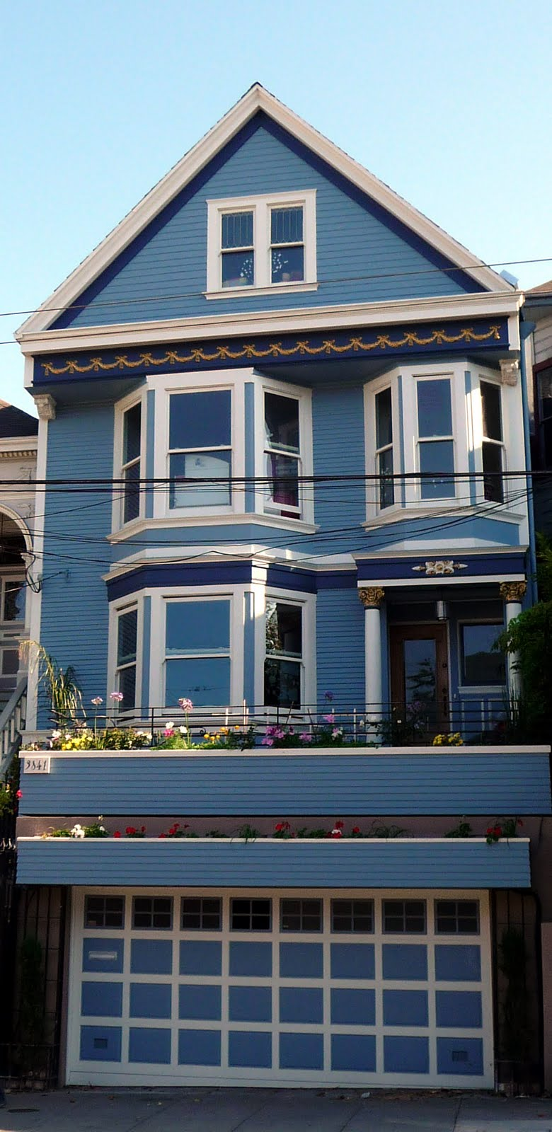 San francisco cali for us - Chanson une maison bleue ...