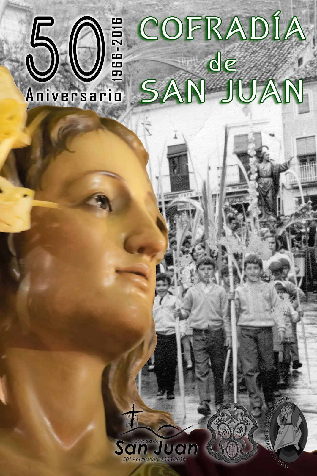 CARTEL 50 ANIVERSARIO COFRADÍA DE SAN JUAN