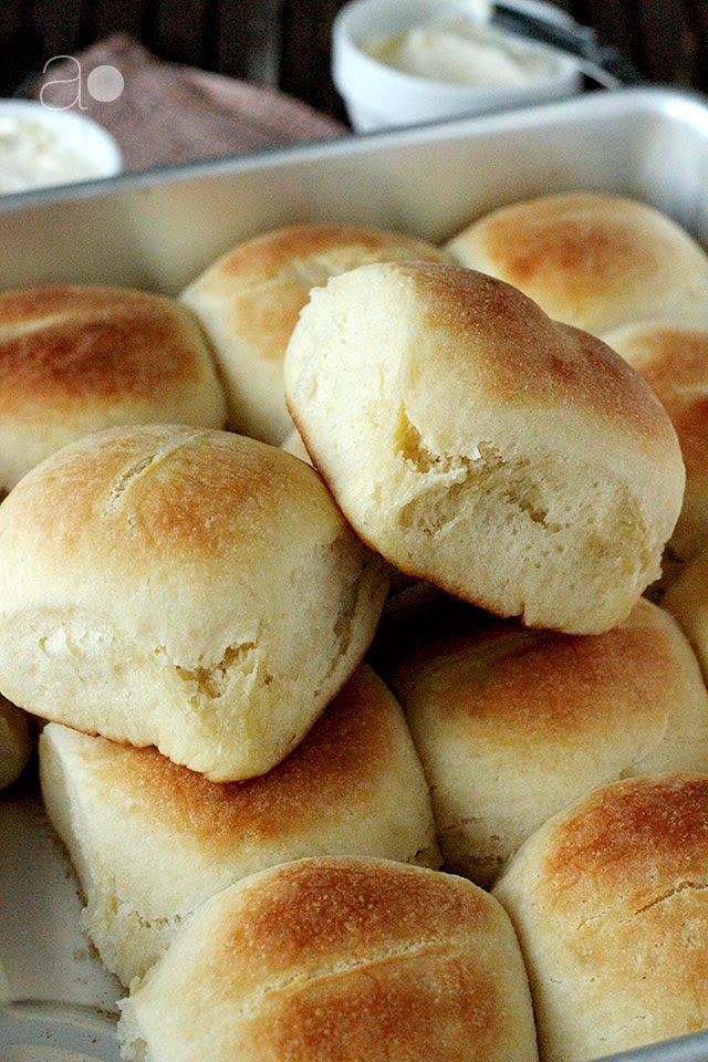 ambrosia: Parker House Rolls
