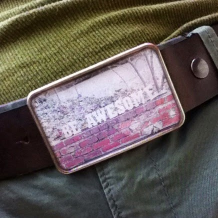 Fun belt from Sue - Be Awesome!