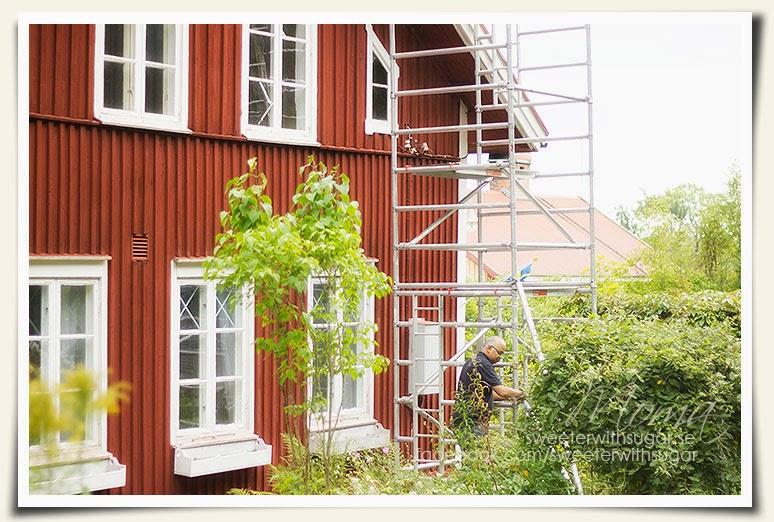 Gamla skolan i Södra Rådom, old school, vintage, shabby chic,