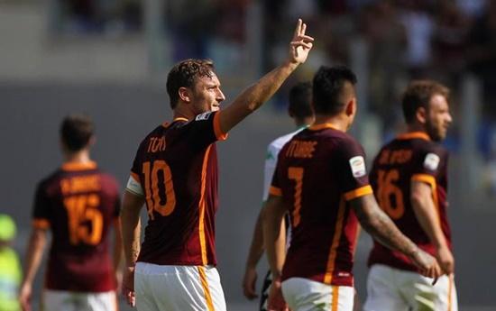 Roma 2 x 2 Sassuolo - Campeonato Italiano(Calcio) 2015/16