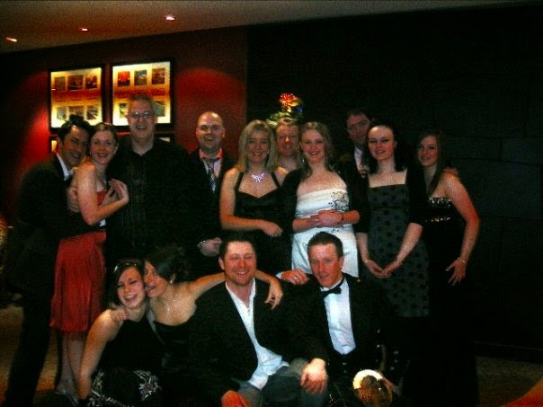 Group of Dunstane staff pre-christmas party