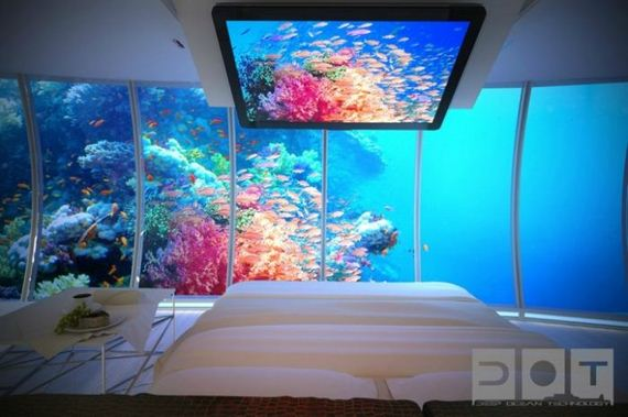 Water Discus Underwater Hotel in Dubai