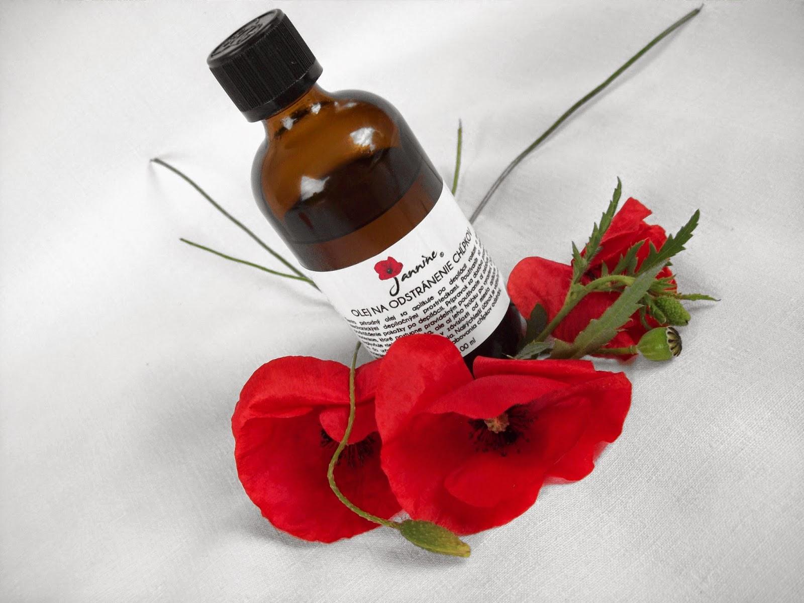 Olej na odstránenie chĺpkov značky Jannine je prírodný olej bez obsahu akejkoľvek syntetickej látky balený v lekárenských fľaštičkých s bezpečnostným uzáverom.