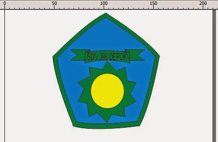 Belajar Sablon Kaos (Screen Printing): Membuat Logo Sekolah untuk Sablon