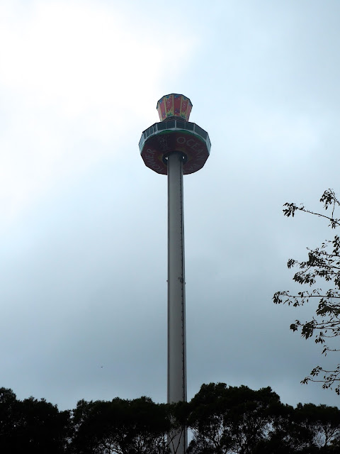 Ocean Park Tower in Marine World area, Ocean Park, Hong Kong