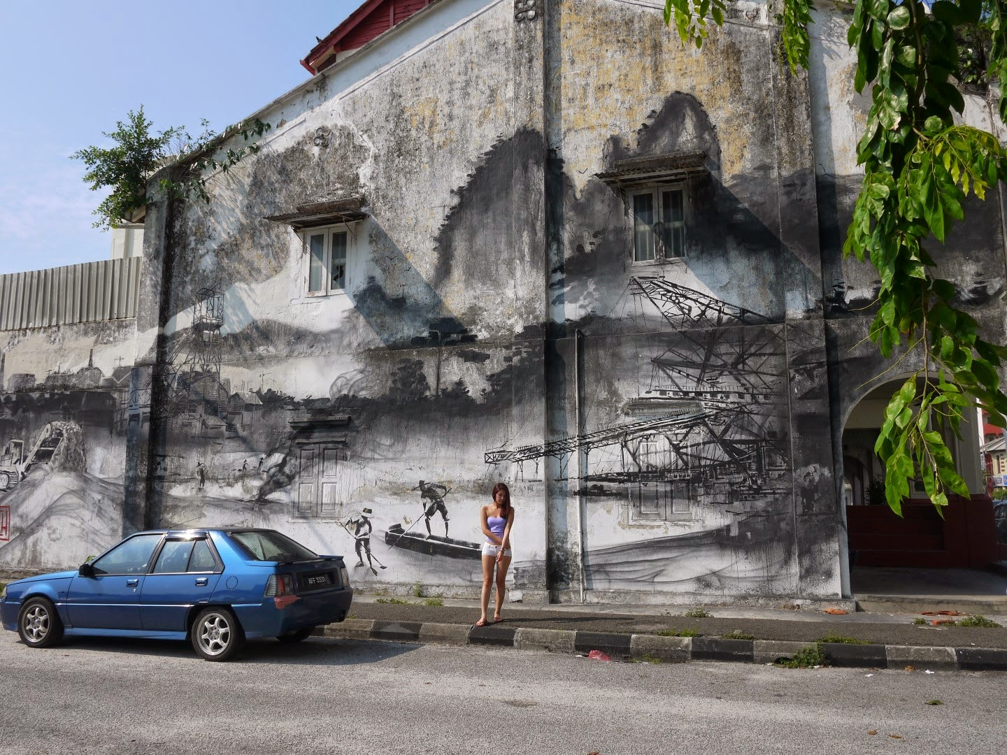 Travel 10 things you must do in ipoh eggieyeen for 7 mural ipoh