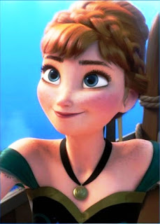 Wallpaper Anna Frozen
