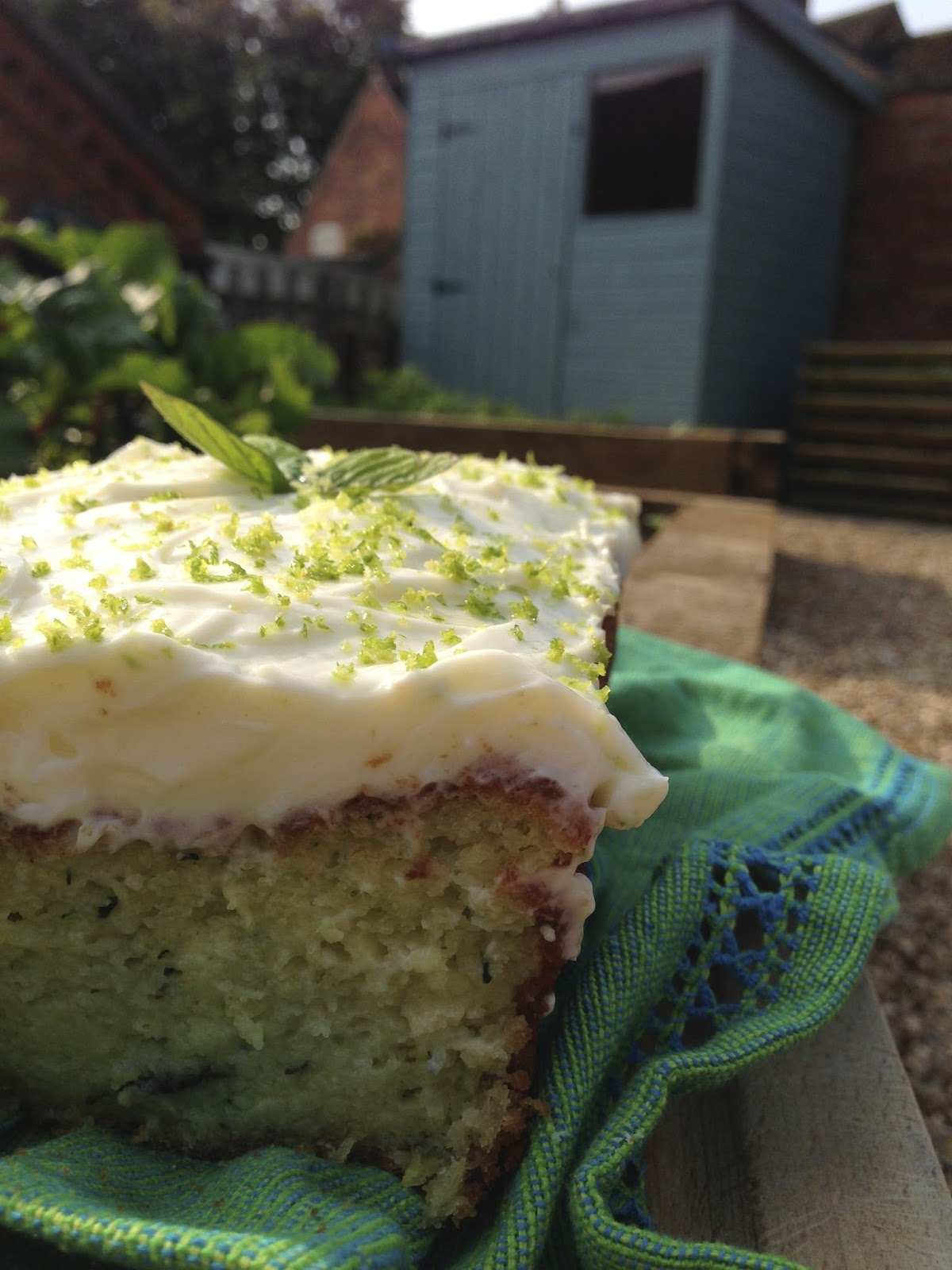 Lime cake recipe uk