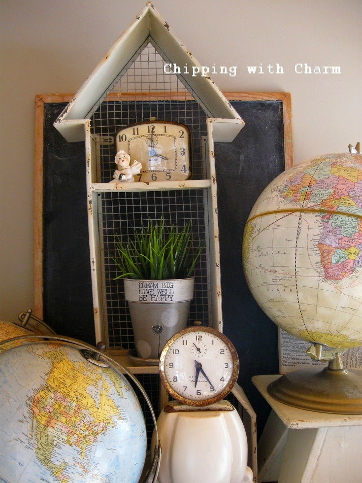 Chipping with Charm: Spring Vignettes...www.chippingwithcharm.blogspot.com