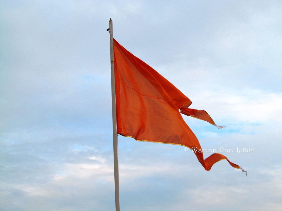 bharat mata with rss flag - photo #34