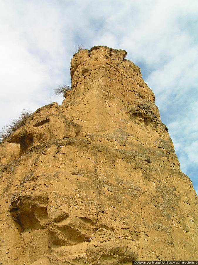 Гора Кольцо, вид в профиль