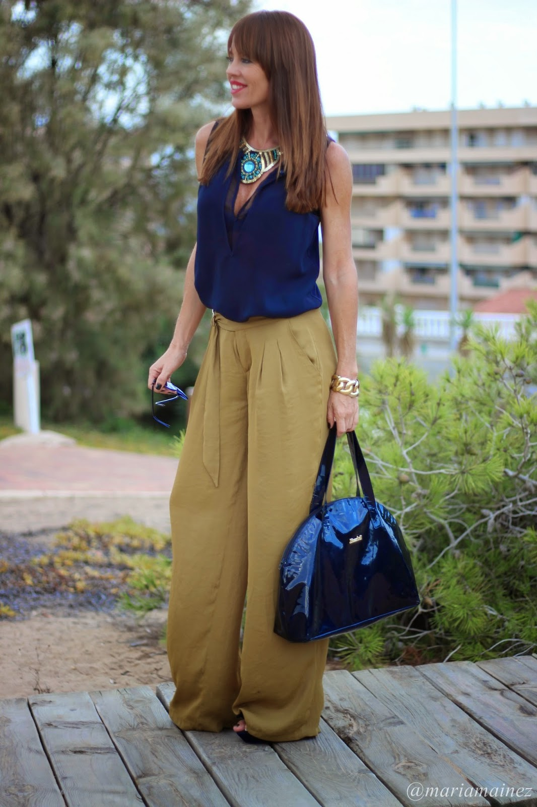 Tendencias Otoño 2014 - palazzo - streetstyle - blogger Alicante