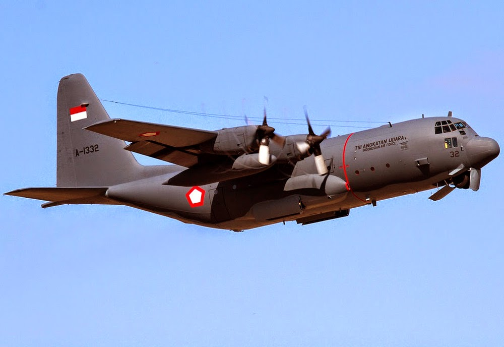 Hercules C-130H A-1332 TNI AU