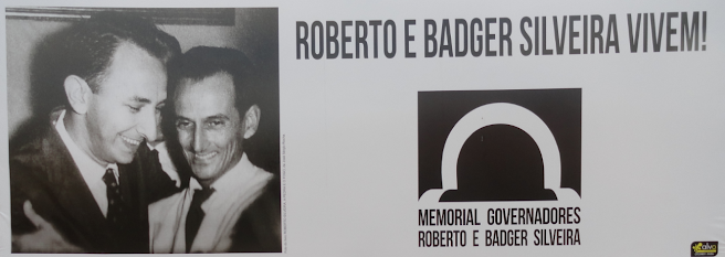 Memorial governadores Roberto e Badger Silveira