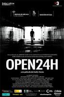 Cartel de Open 24h