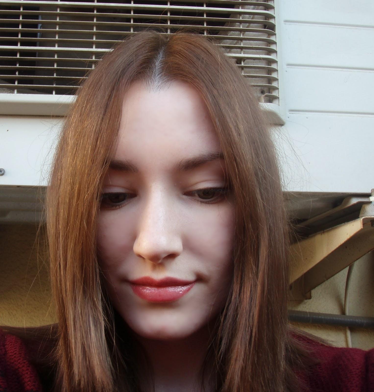 Raiz del cabello mas clara