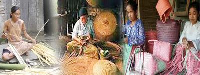 Kerajinan anyaman bambu