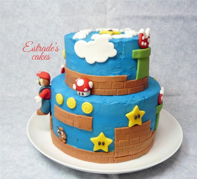 Tarta Mario Bros - 2