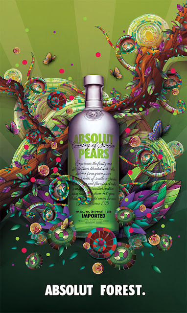 Anna Anjos Absolut Forest