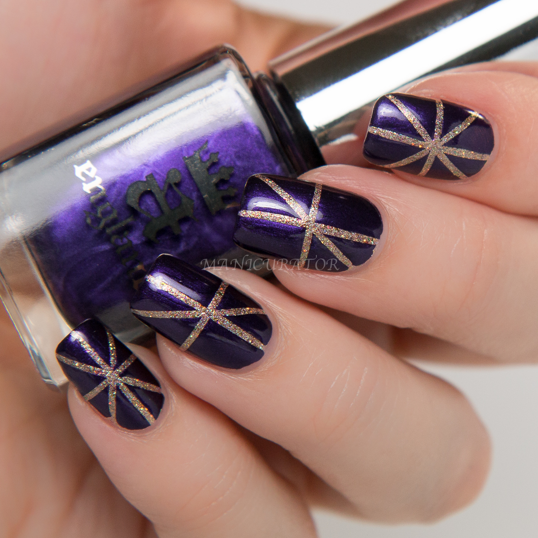 A-England-The-Blessed-Damozel-Heavenly-Quotes-Swatch-Nail-Art