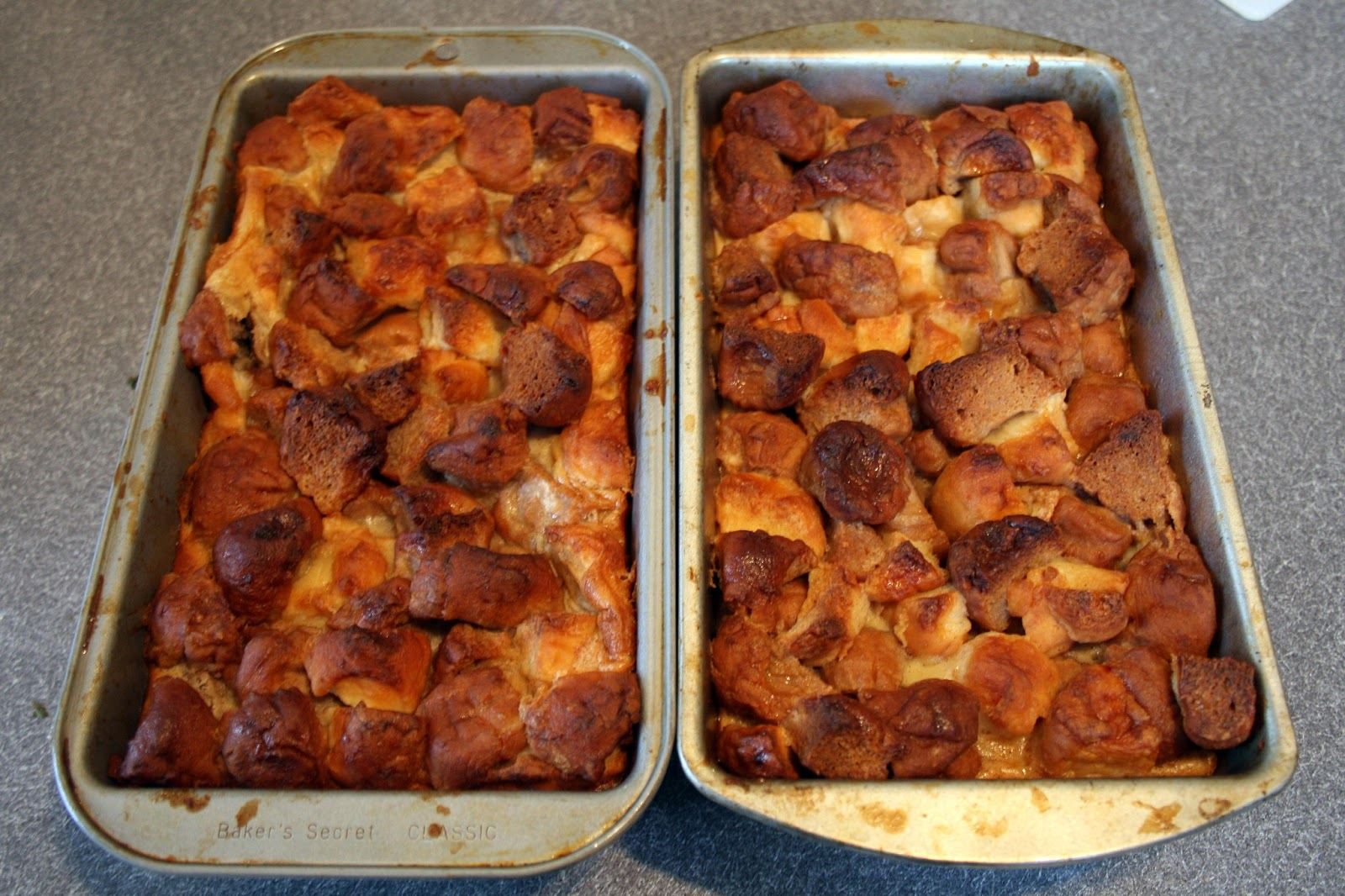 one clever mom: Donut Bread Pudding