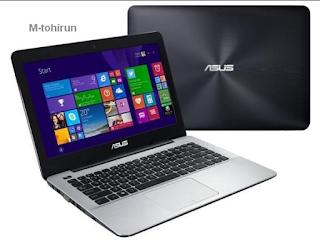 Spesifikasi dan harga ASUS X455LA