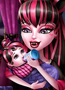 Кормим малышку монстра - Онлайн игра для девочек