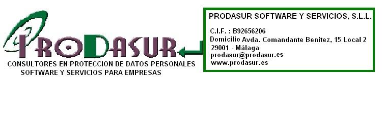 PRODASUR SOFTWARE Y SERVICIOS, S.L.L.