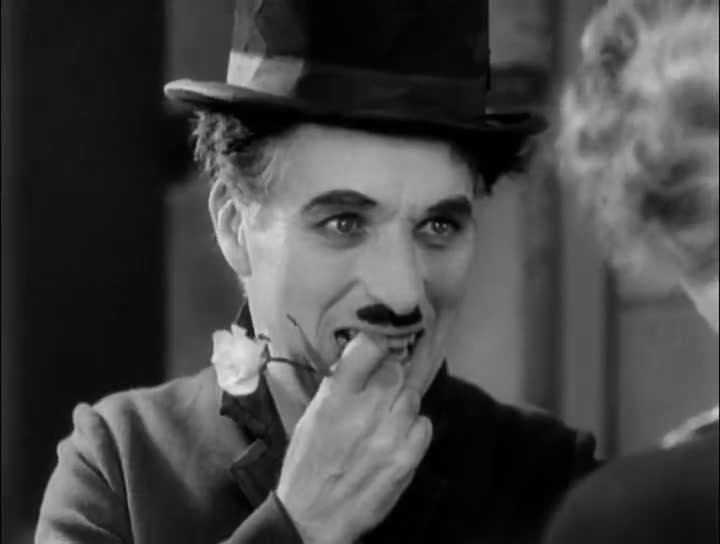 Screen Shot Of Charlie Chaplin City Lights (1931) Full Movie 300MB small Size PC Movie