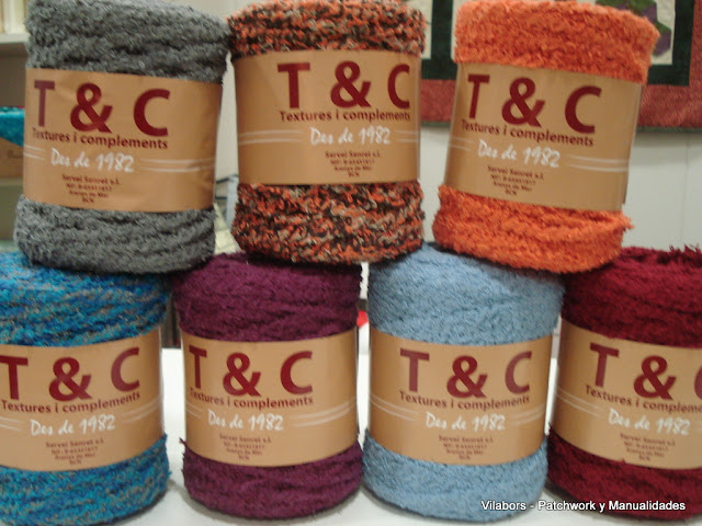 Trapillo de hilo de diferentes colores y diseños