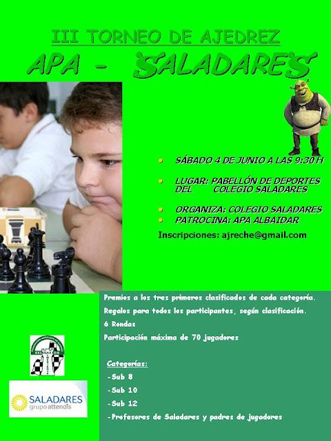 III TORNEO SALADARES