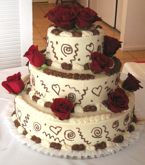 Alaine\'s Vegan { Green Heart Bakery }: Wedding Cakes