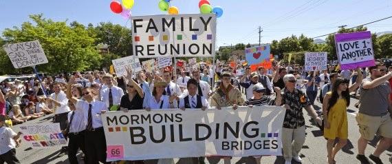 Mormons March in Utah Gay Pride Parade