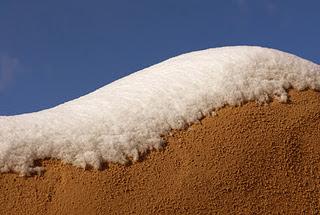 Έντονη χιονόπτωση, ένα ασυνήθιστο