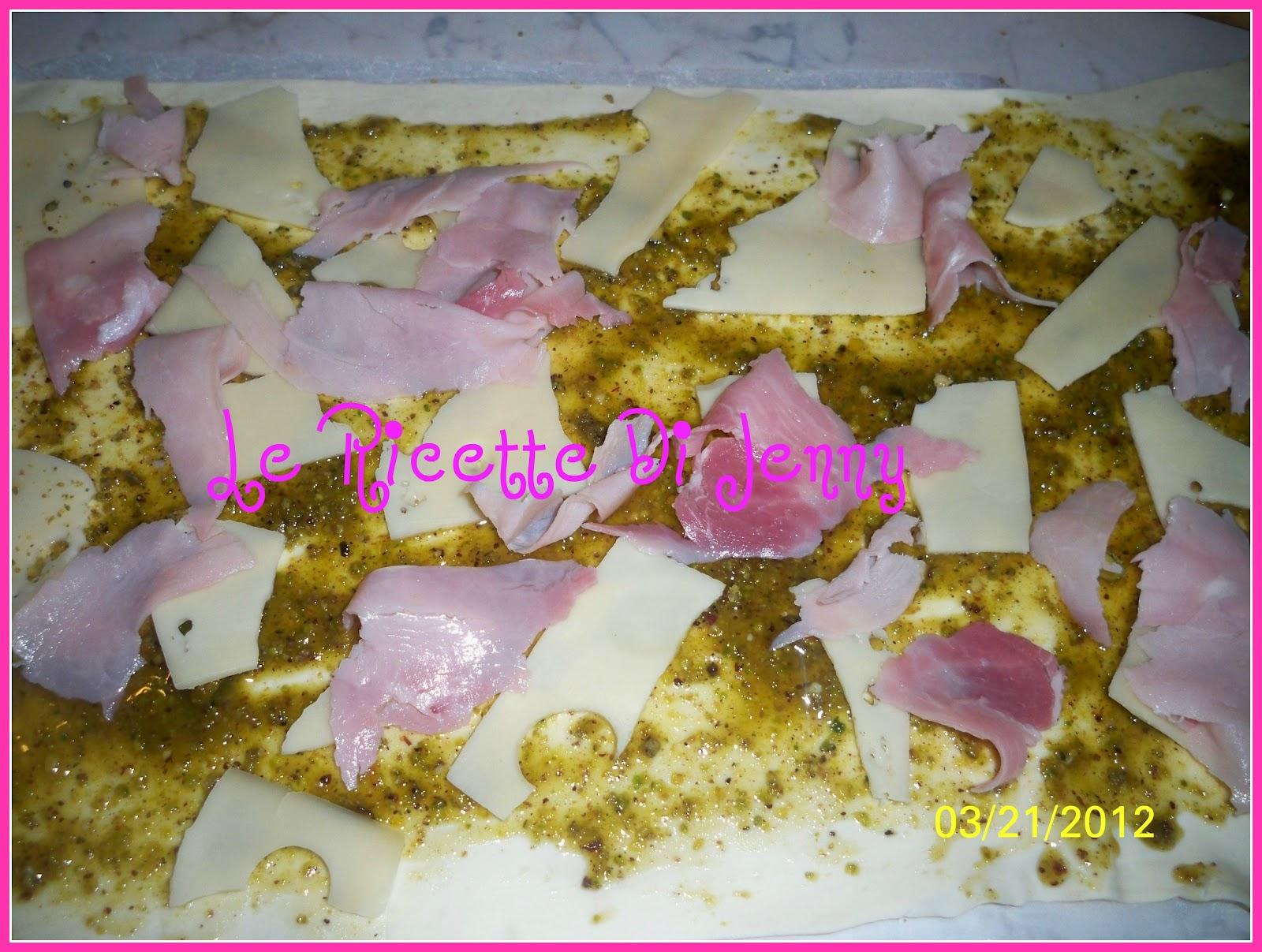 Ricette pasta sfoglia con pesto