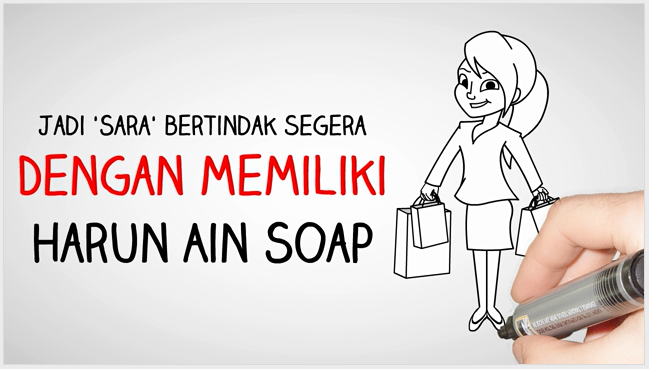 Harun Ain Soap di Video X Ads