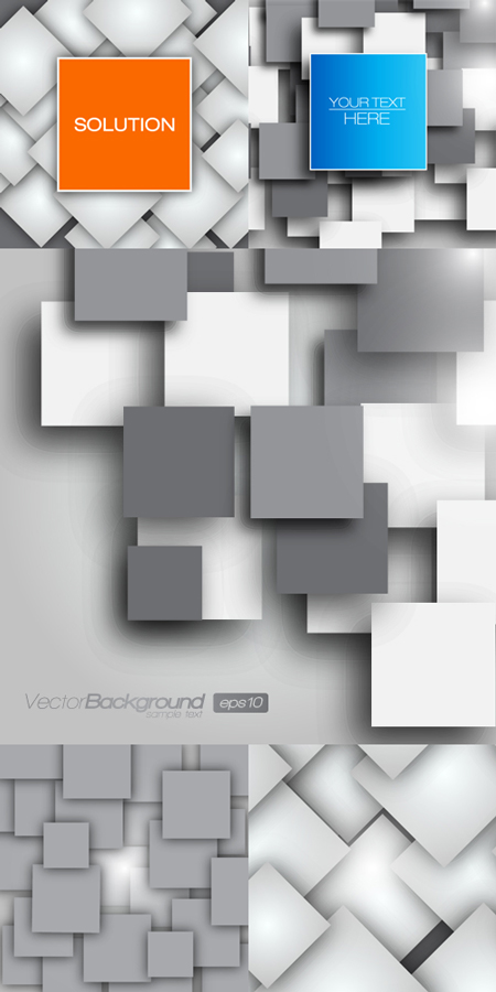 Square Blanks Backgrounds