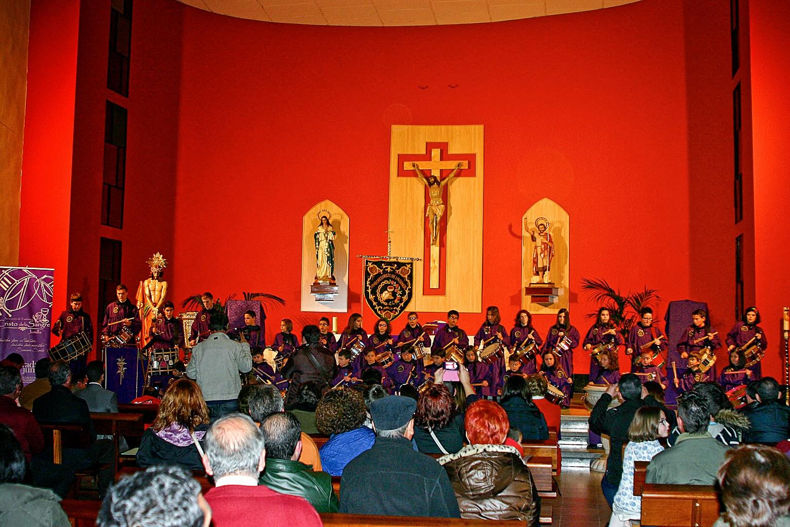 Tamboradas, Jumilla, Semana Santa