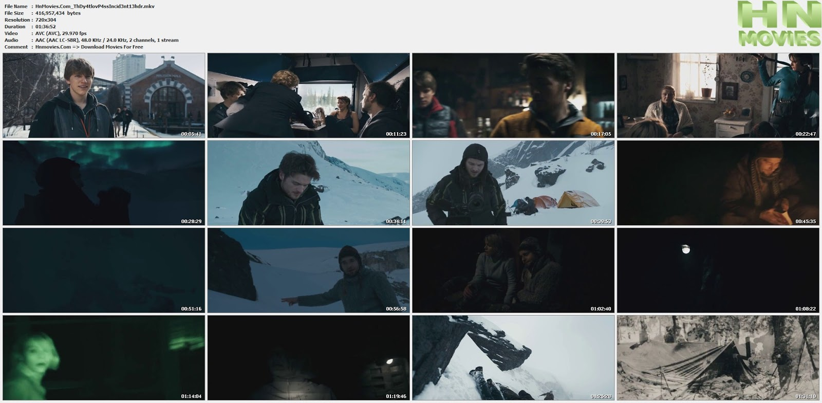 movie screenshot of The Dyatlov Pass Incident fdmovie.com
