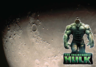 The Incredible Hulk Desktop Wallpapers Hulk The Movie in Moon Light desktop wallpaper