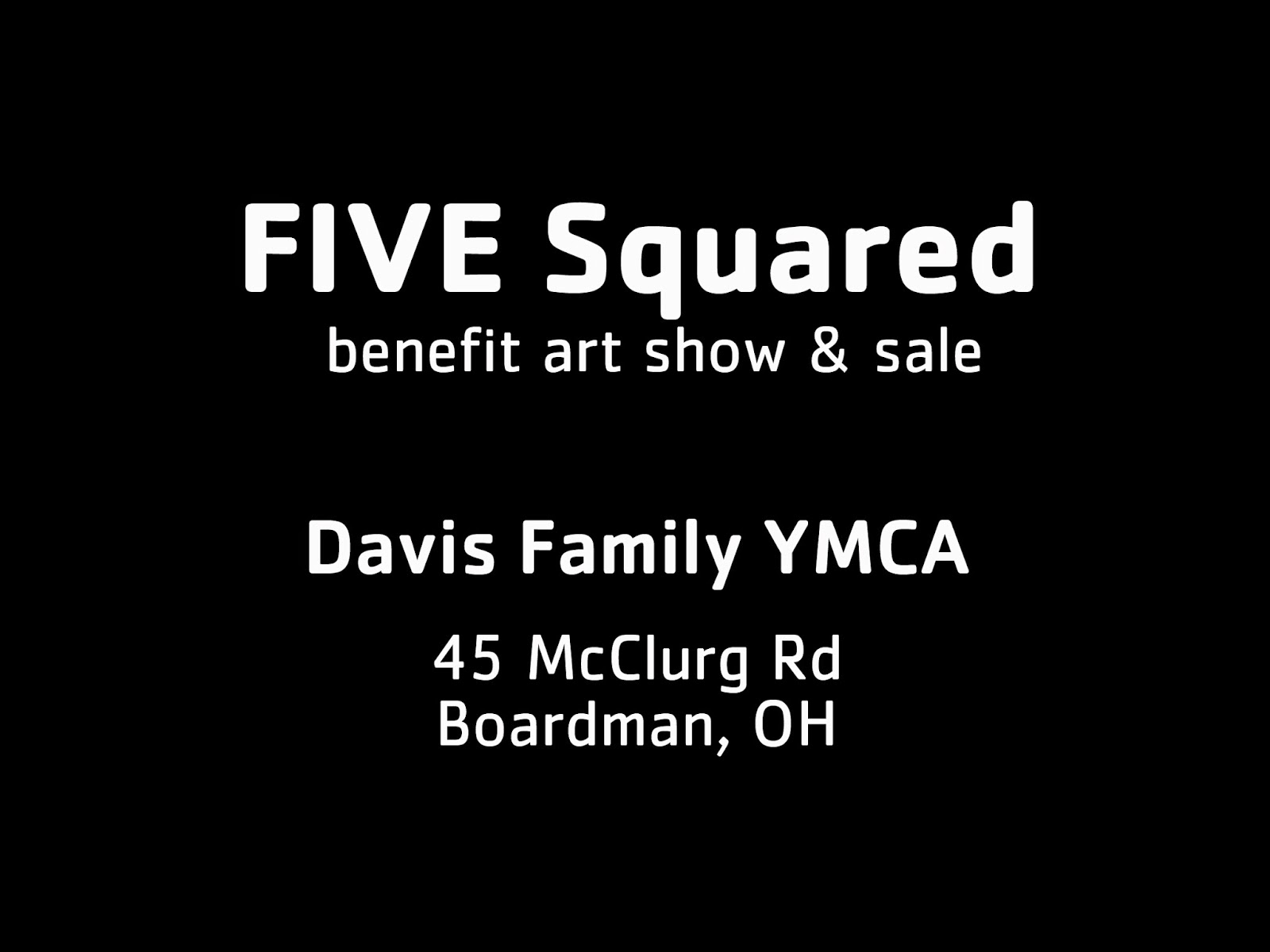 youtube,  art show, Davis Family YMCA, Suzanne Bort Gray