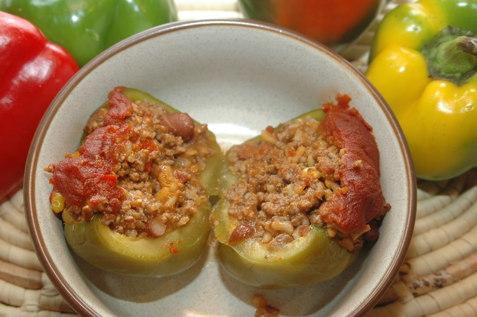 Dad's Stuffed Bell Peppers Recipes — Dishmaps