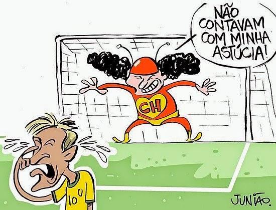 Brasil, Brazil, México, Cartoon, Ochoa, Neimar, Junião