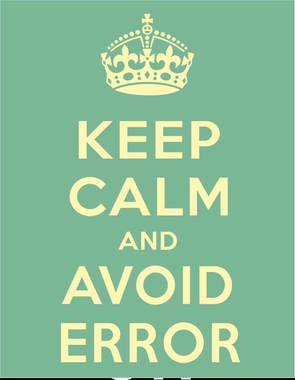 Cuidados necessários para que se evite erros ao utilizar o Excel ou o Calc!