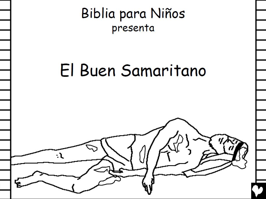 Historias Bíblicas para colorear: El Buen Samaritano para colorear ...