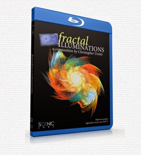 **New Release** Fractal Illuminations Blu Ray