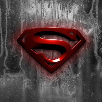Super Man Logo iPad Tablet Background