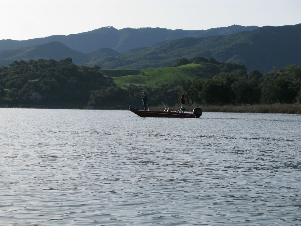 The reel world june 2011 for Lake cachuma fishing report